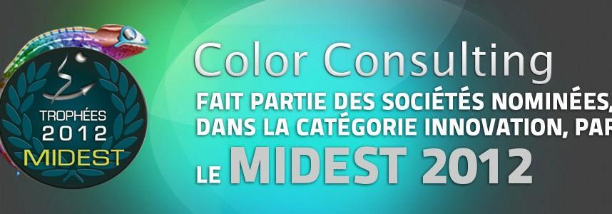 Nominée pour la catégorie innovation par le MIDEST 2012